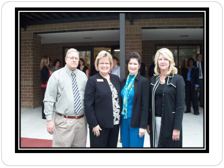 Acps acms ribbon cutting ceremonies esplost iii completed projects
