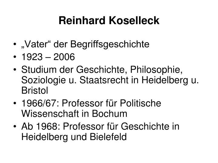 Reinhard Koselleck