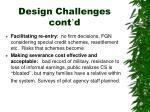 design challenges cont d1