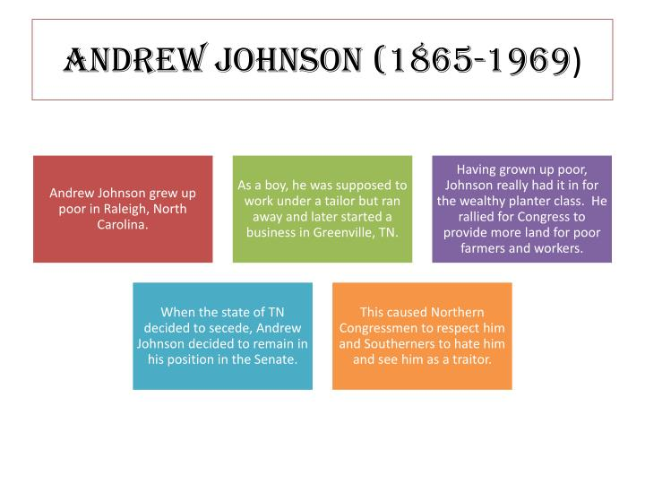 Andrew Johnson (1865-1969