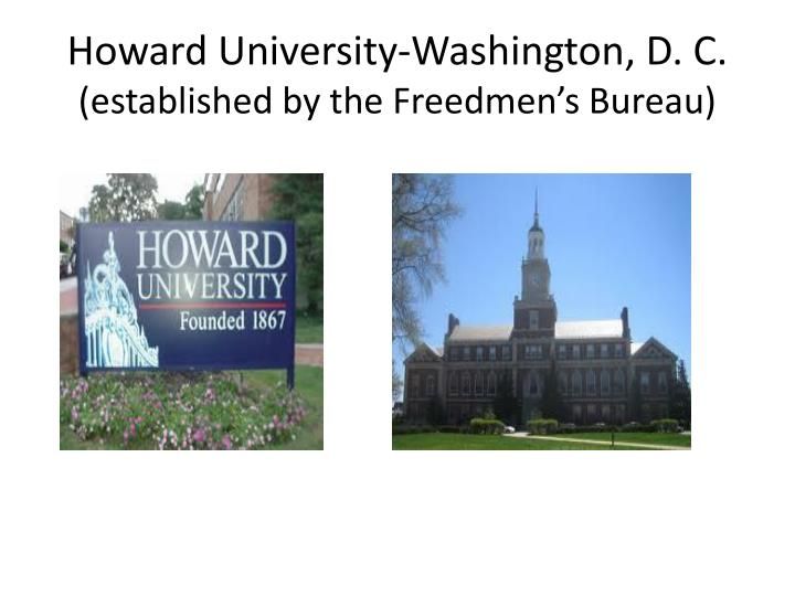 Howard University-Washington, D. C.