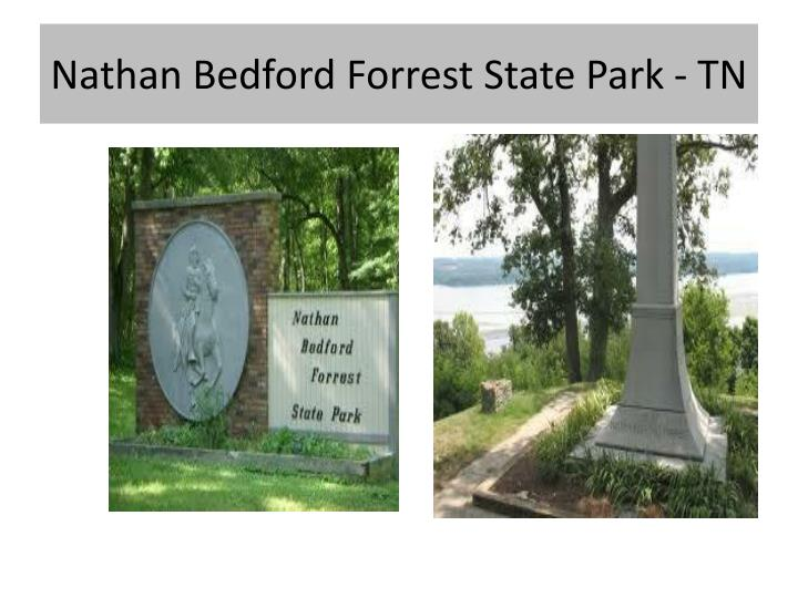 Nathan Bedford Forrest State Park - TN