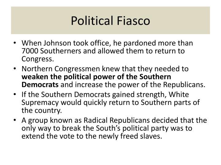 Political Fiasco
