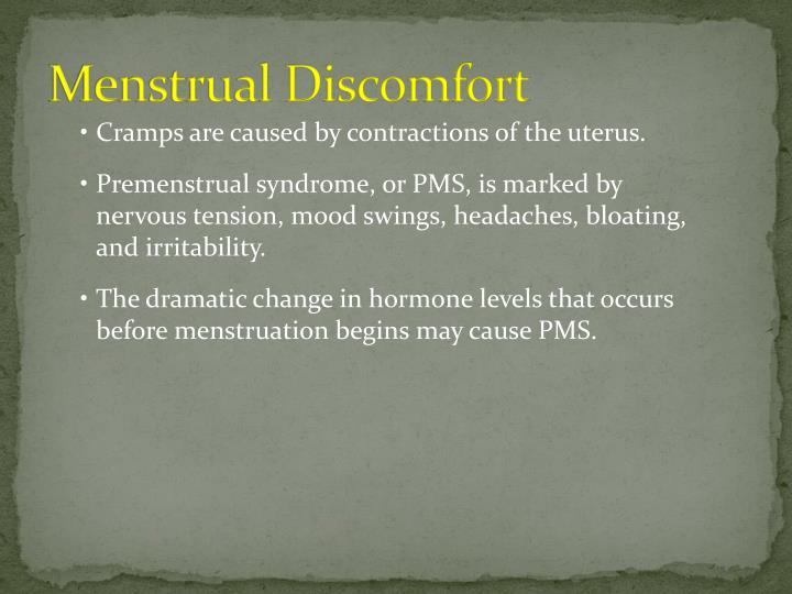 Menstrual Discomfort