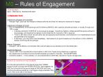 m0 rules of engagement