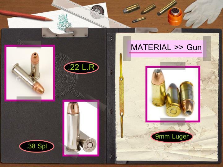 MATERIAL >> Gun