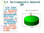 3 4 environmentally adjusted gdp