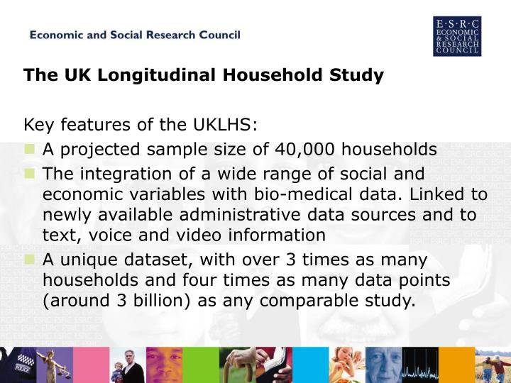 The UK Longitudinal Household Study