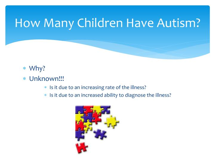 How Many Children Have Autism?