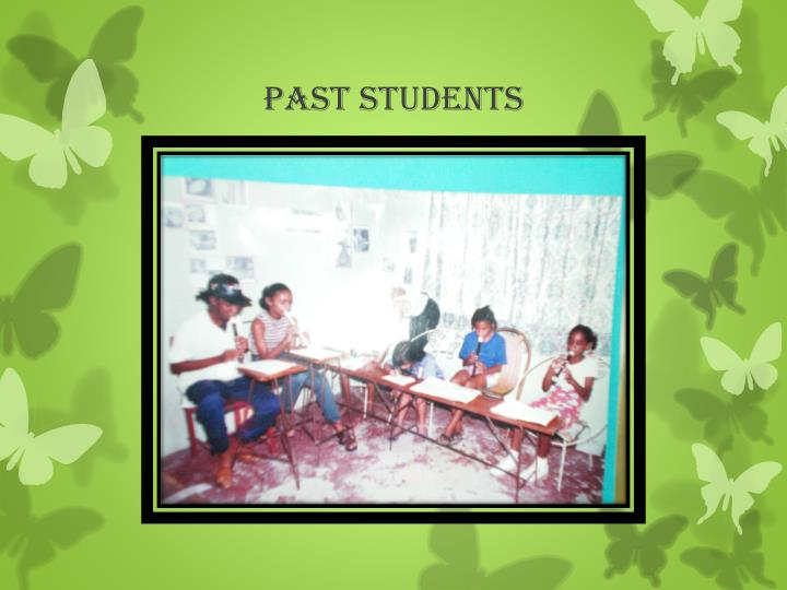 Past STUDENTS