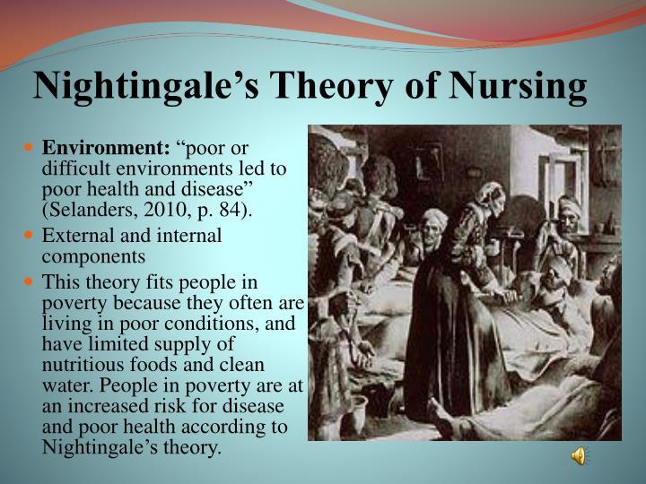 Nightingale's Theory of Nursing