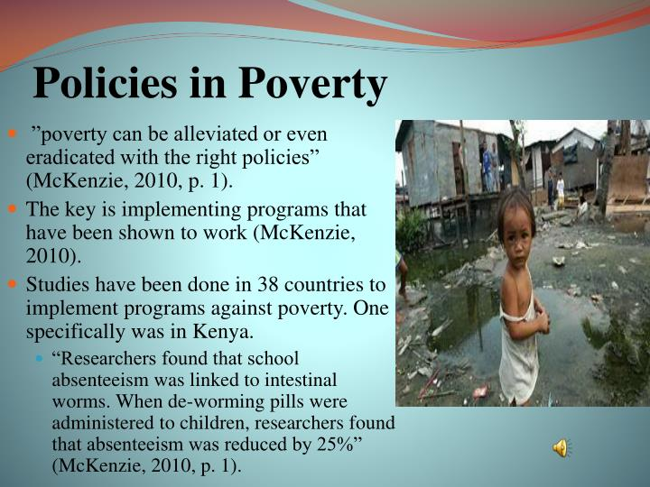 Policies in Poverty