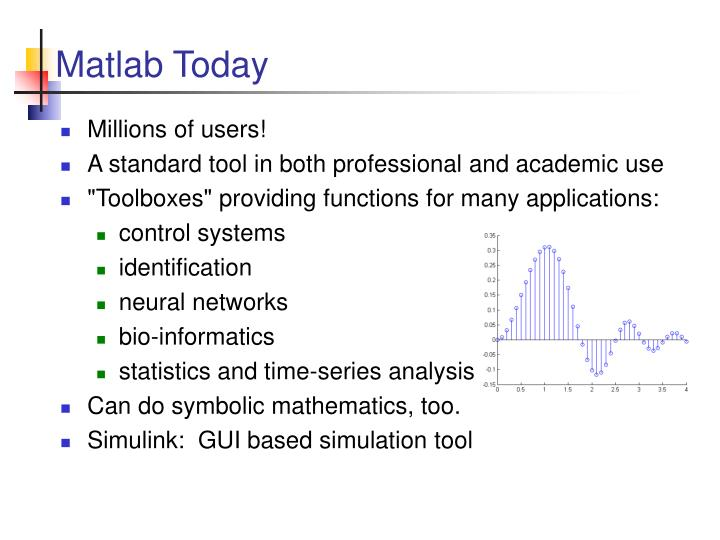 Matlab Today