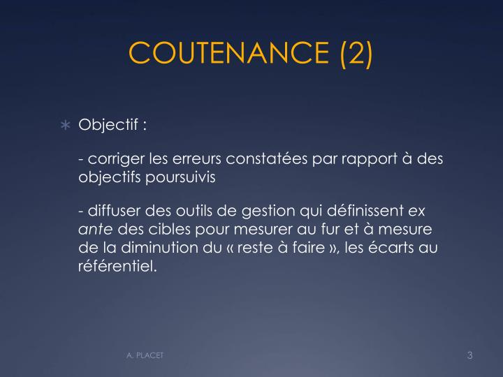 COUTENANCE (2)