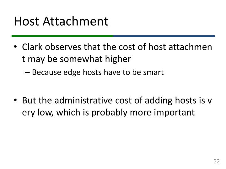 Host Attachment