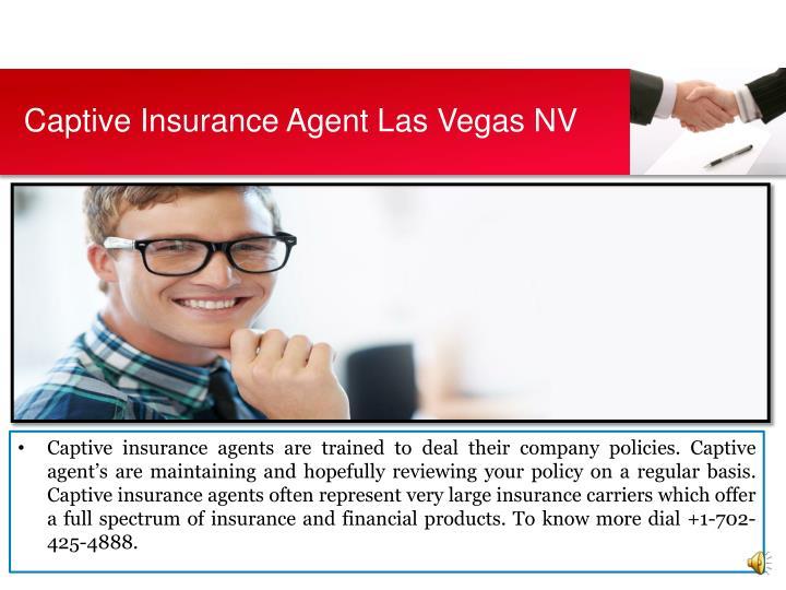 Captive Insurance Agent Las Vegas NV