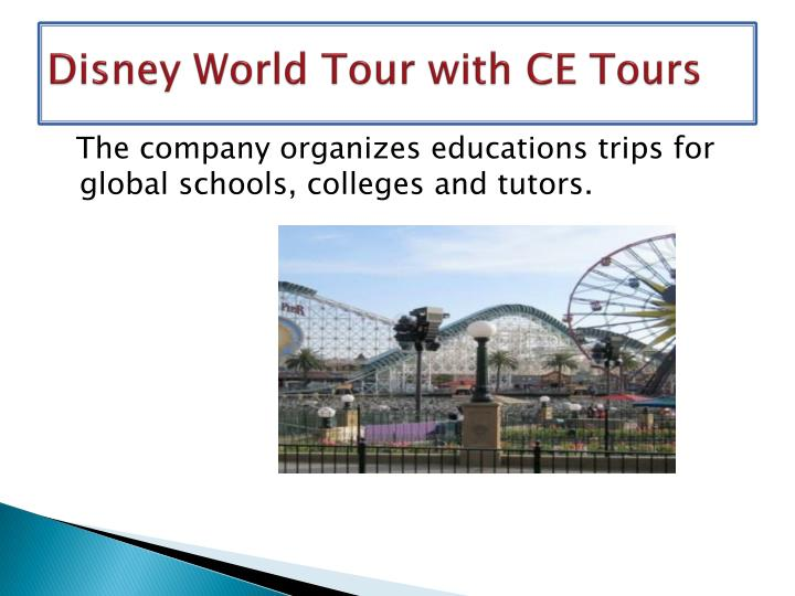 Disney world tour with ce tours2
