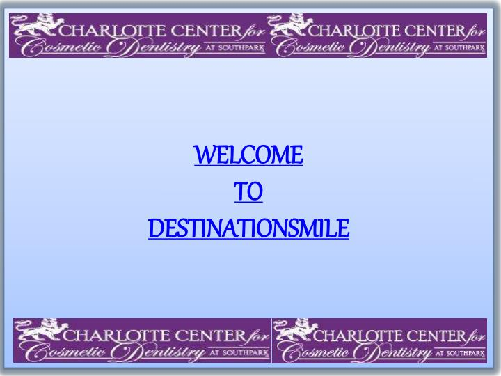 Welcome to destinationsmile