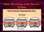 basic physiology of the nervous system