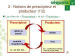 3 notions de prescripteur et producteur 1 2