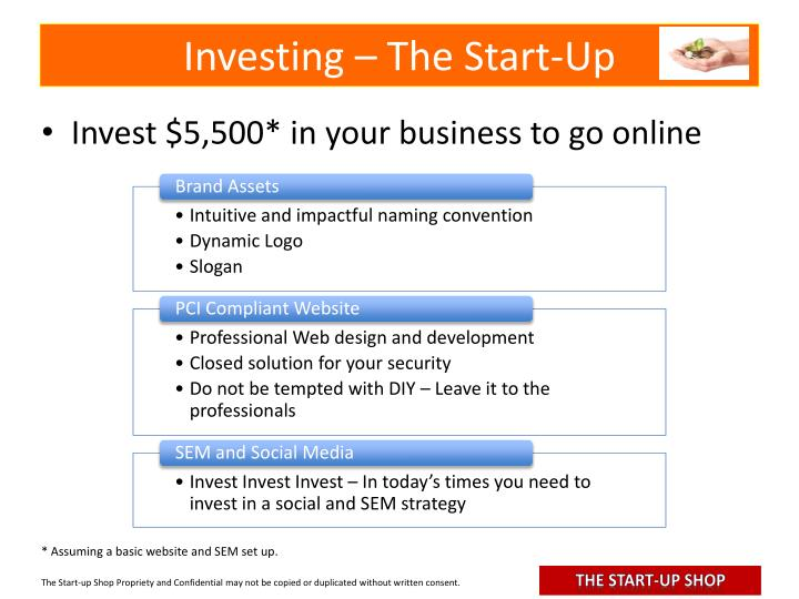 Investing – The Start-Up