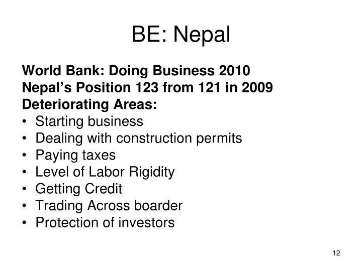BE: Nepal