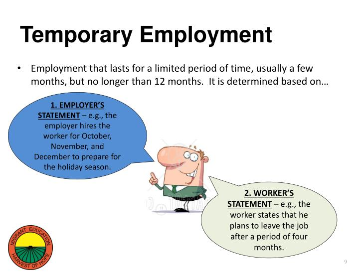 Temporary Employment