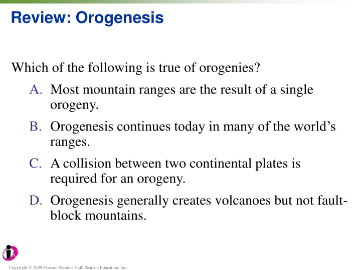 Review: Orogenesis