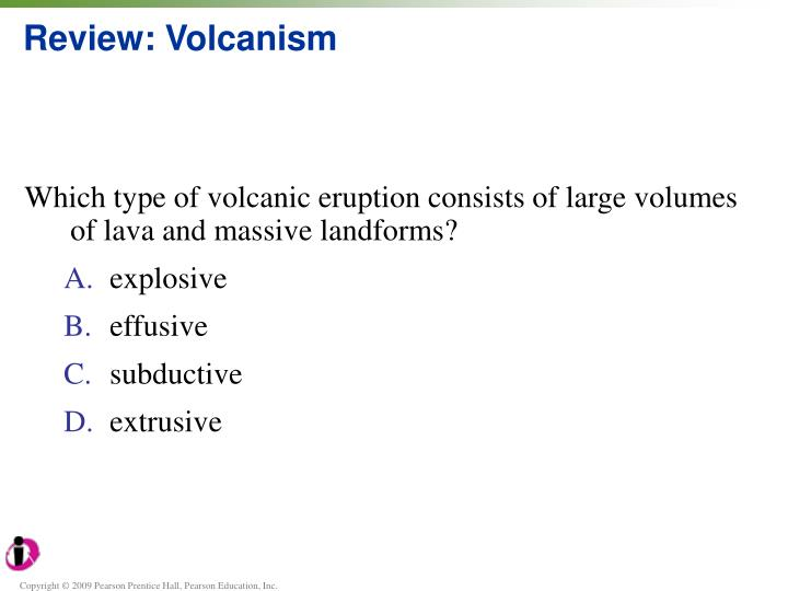 Review: Volcanism