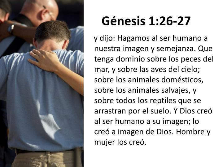 Génesis 1:26-27
