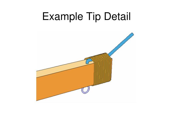 Example Tip Detail