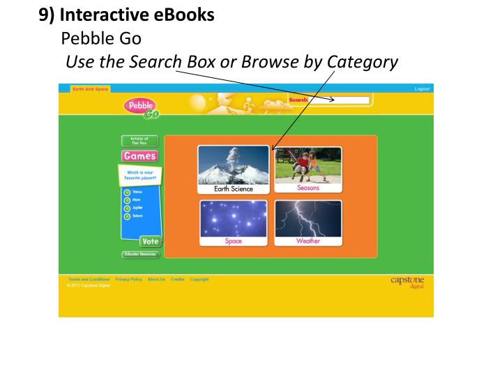 9) Interactive eBooks
