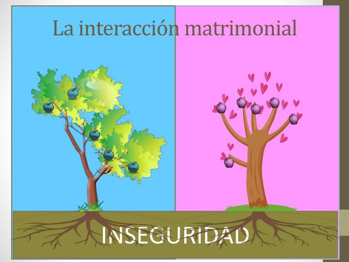 La interacción matrimonial