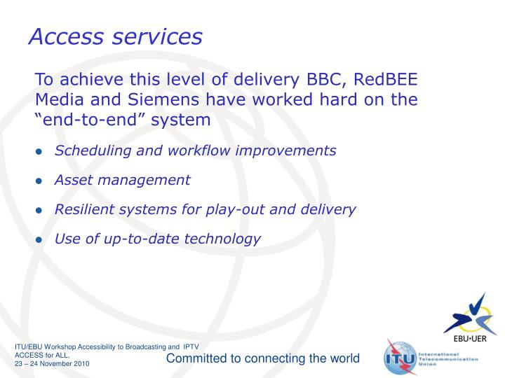 Access services