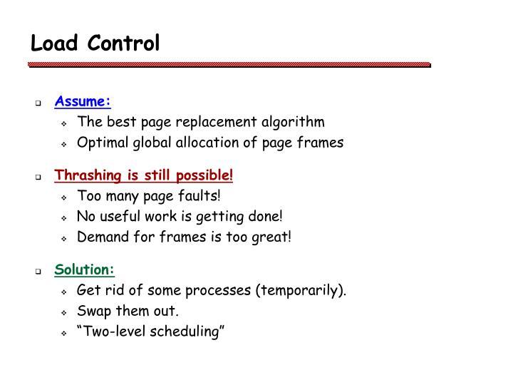 Load Control