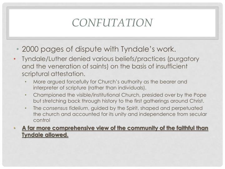 Confutation