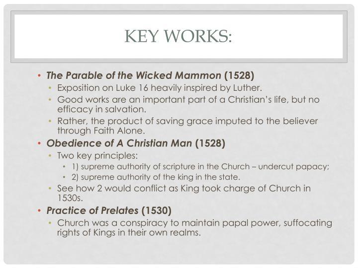 Key Works: