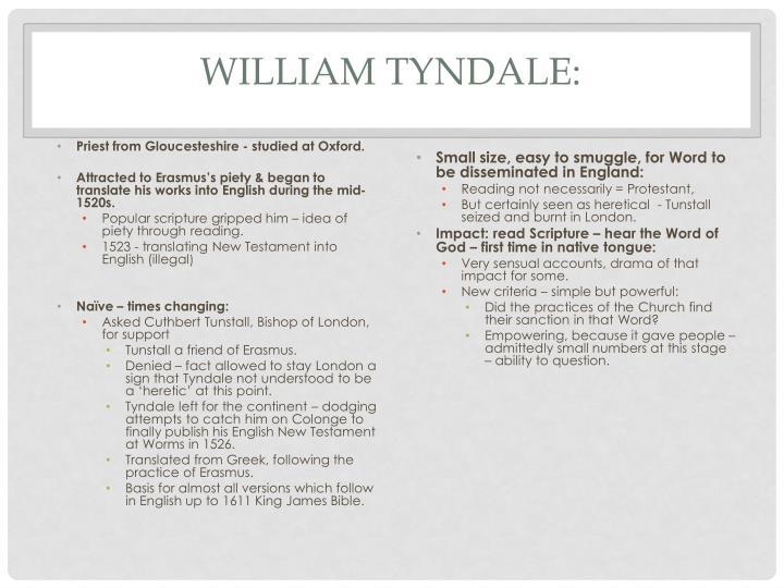 William Tyndale: