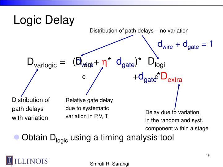 Logic Delay