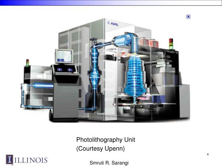 Photolithography Unit