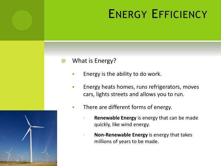 Energy efficiency1