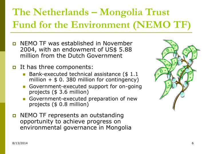 The Netherlands – Mongolia Trust Fund for the Environment (NEMO TF)