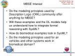 mbse interest