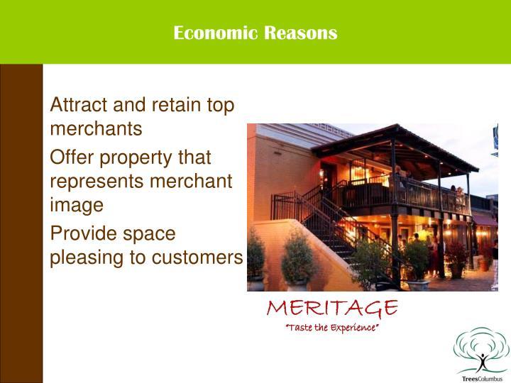 Economic Reasons