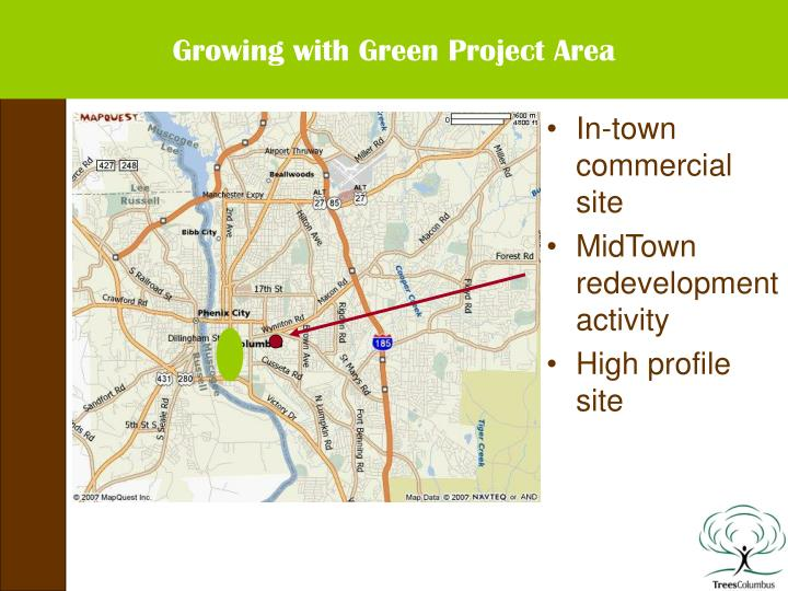 Growing with Green Project Area
