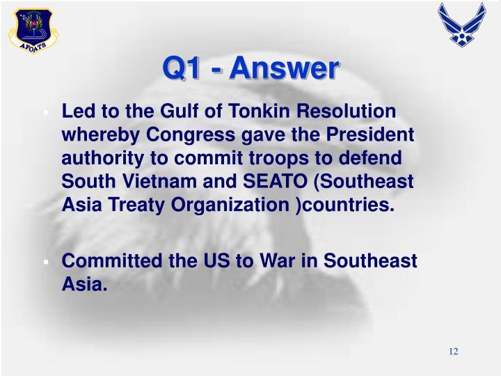 Q1 - Answer