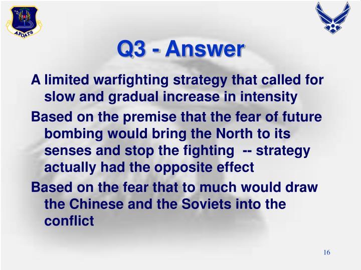 Q3 - Answer