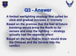 q3 answer