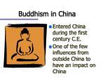 buddhism in china1