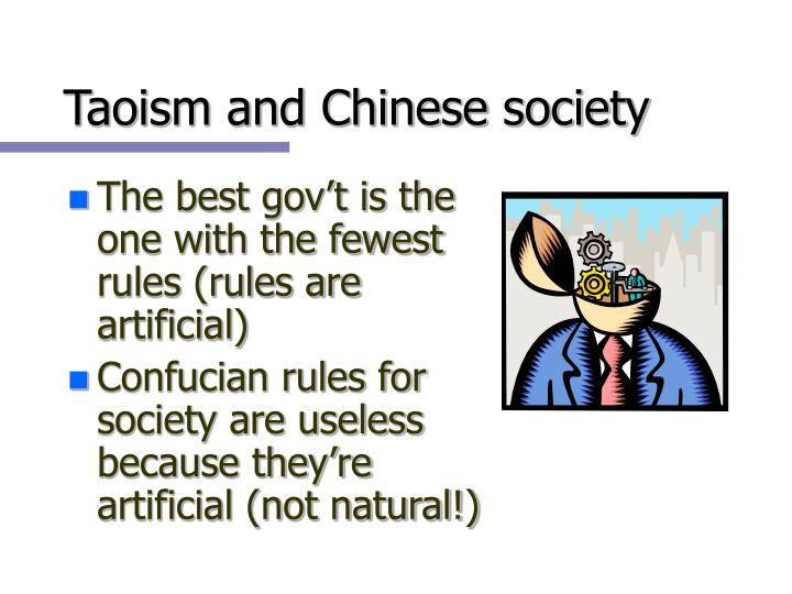 Taoism and Chinese society